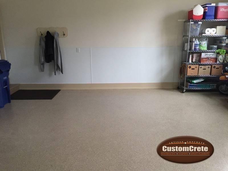 Customcrete Custom Garage Floors