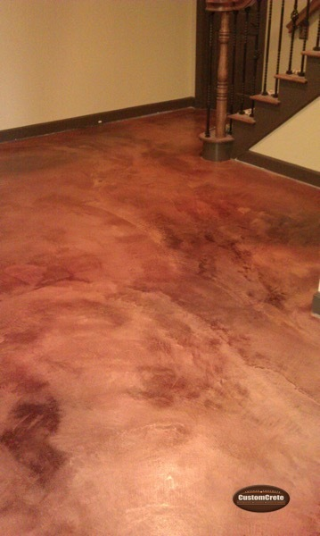 Customcrete Stained Concrete Floors St Louis Mo