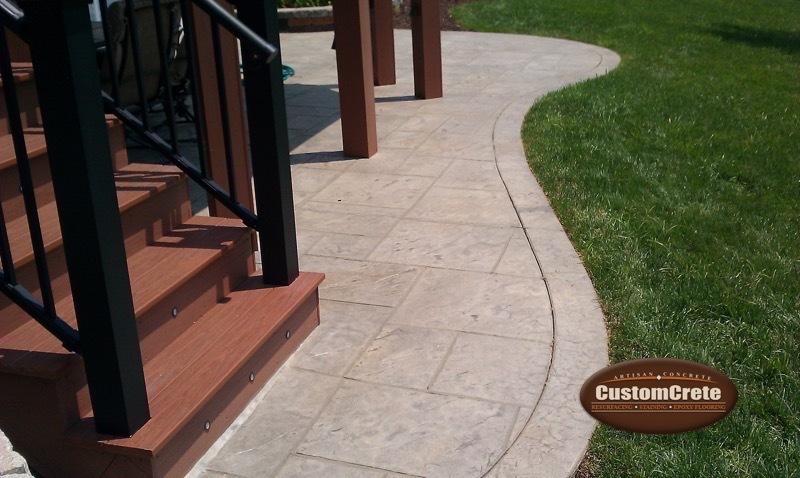 Customcrete Decorative Stamped Concrete In St Louis Mo